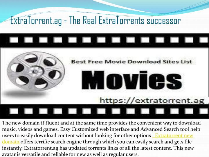 extra torrent download movies free