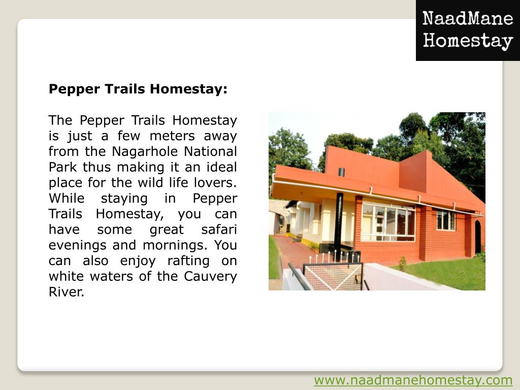PPT - Best Homestays in Coorg Book for Accommodation in the Town