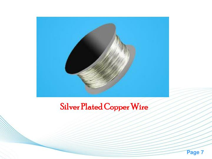 PPT - Silver Plated Copper Wire Manufacturers PowerPoint ...