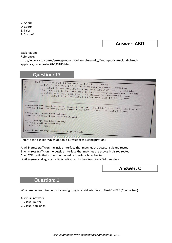 PPT - 300-210 Practice Test PowerPoint Presentation - ID:7640165