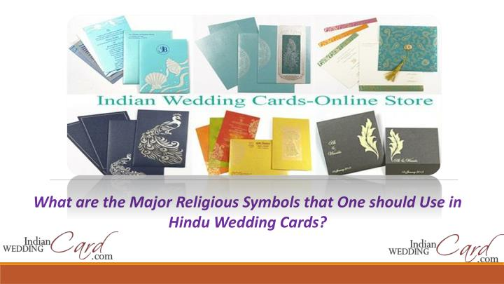 Ppt Most Popular Hindu Wedding Cards Religious Symbols Powerpoint