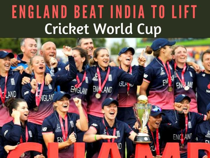 england beat india to lift cricket world cup n.
