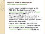 imported marble in india exporter http www tripurastones in