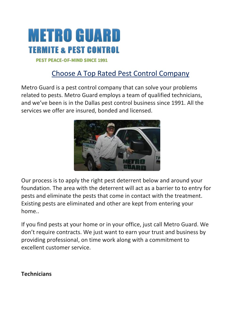 Ppt Choose A Top Rated Pest Control Company Powerpoint Presentation Free Download Id 7640988