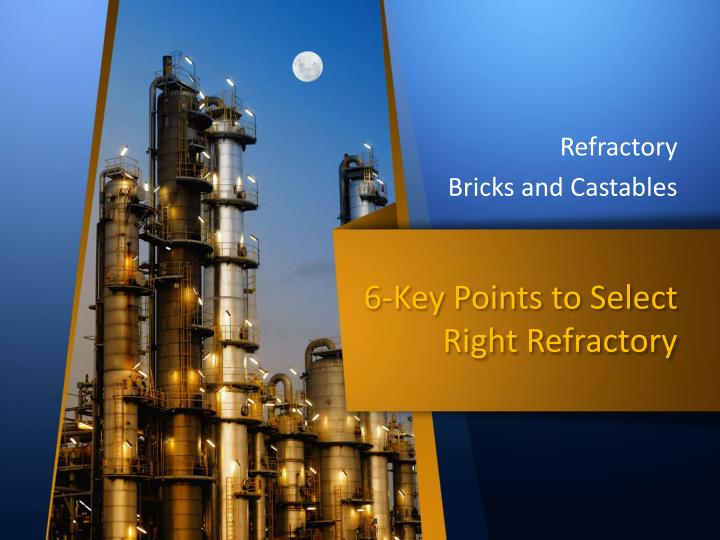 refractory bricks and castables n.