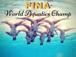 fina world aquatics championships