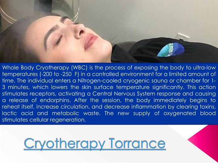 cryotherapy torrance n.