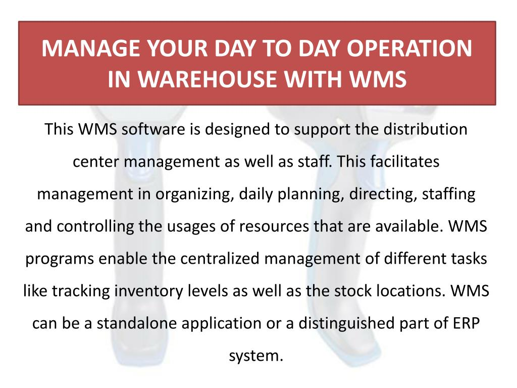 PPT - Significance of RFID and Warehouse Management Systems