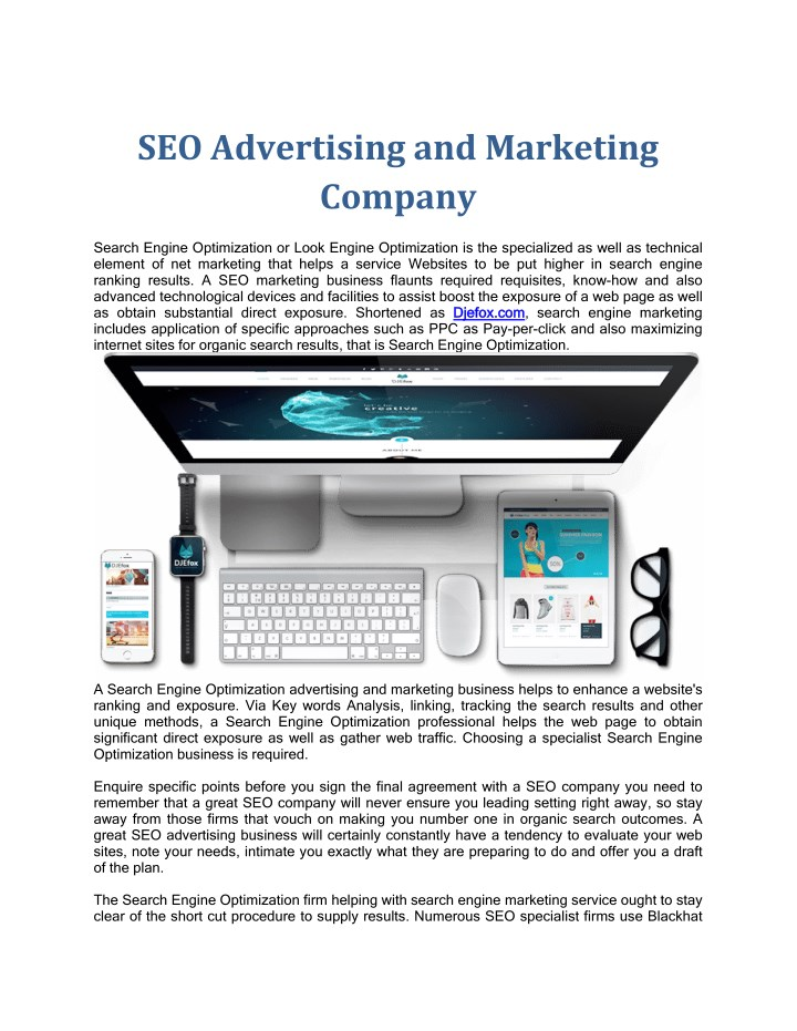 seo advertising and marketing company n.