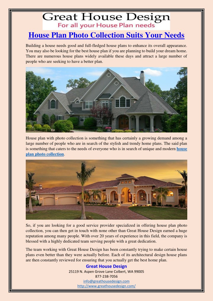 house plan photo collection suits your needs n.