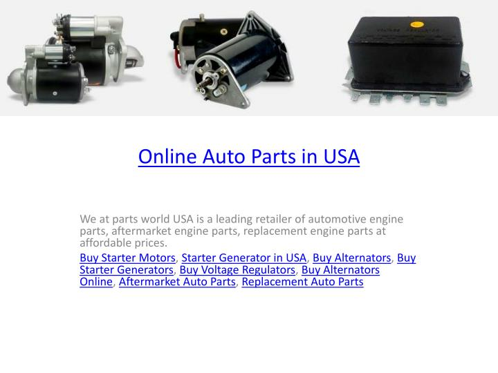 online auto parts in usa n.