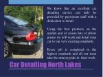 car detailing north lakes