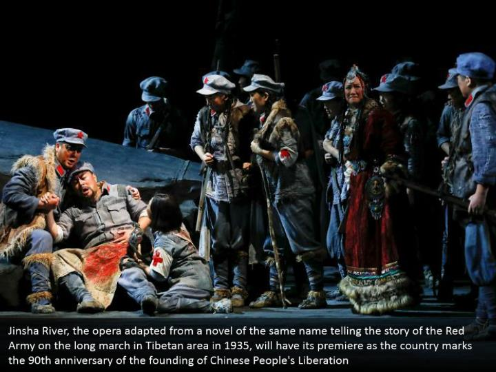 Jinsha river the opera adapted from a novel