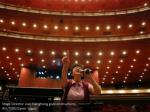 stage director liao xianghong gives instructions