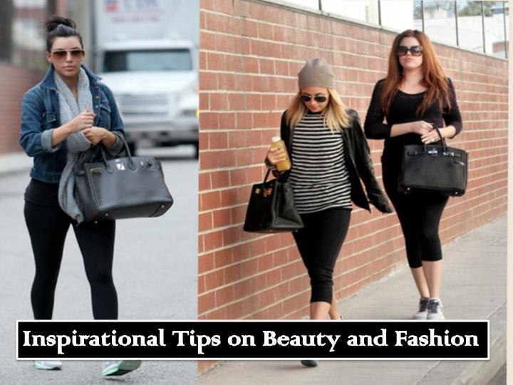 inspirational tips on beauty and fashion n.