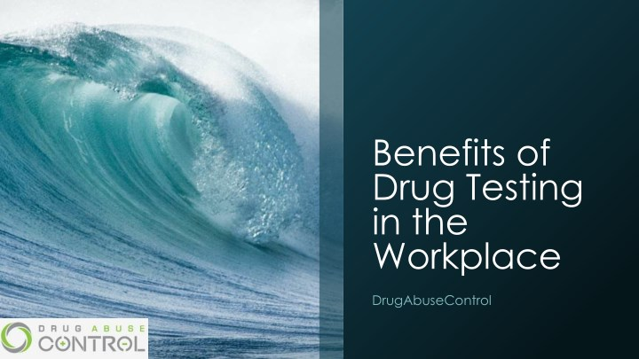 benefits of drug testing in the workplace n.