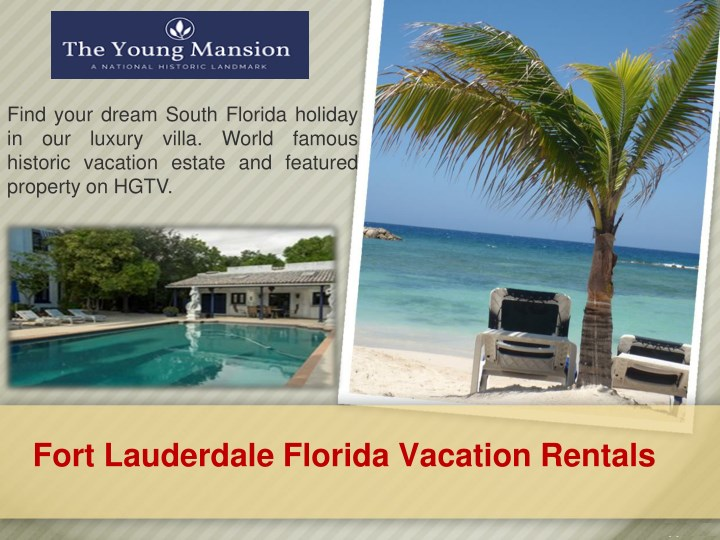 find your dream south florida holiday n.