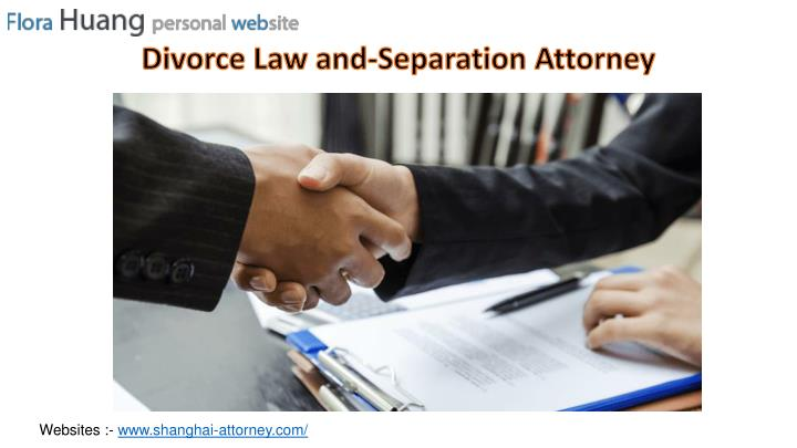 divorce law and separation attorney n.