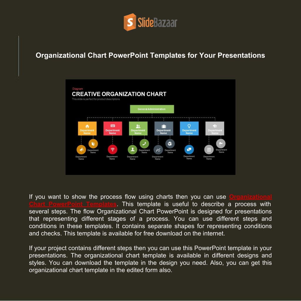 powerpoint template org chart