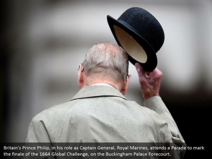Britain s prince philip in his role as captain