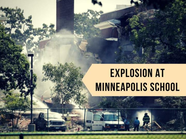 explosion at minneapolis school n.