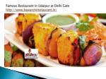 famous restaurant in udaipur at delhi gate http www bawarchirestaurant in 5