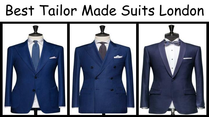 best tailor made suits london n.