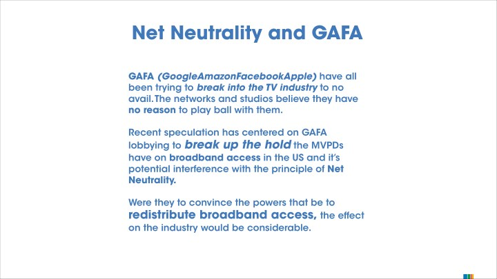 Net Neutrality and GAFA
