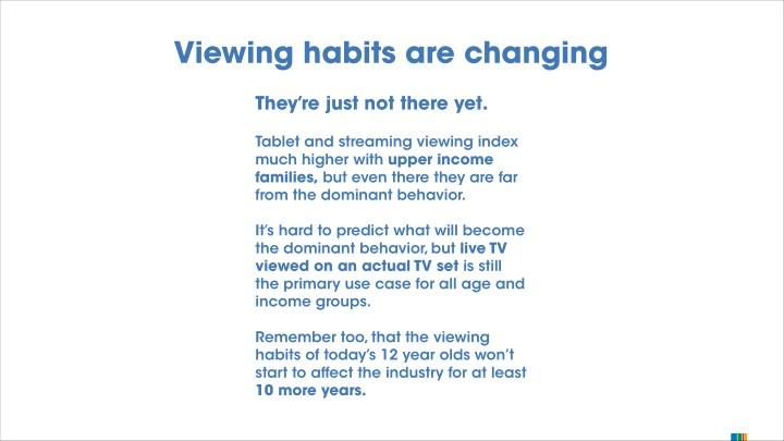 viewing habit Top 10 reasons you should stop watching tv by socio-economic milieus were asked to stop watching their television viewing habit for a.