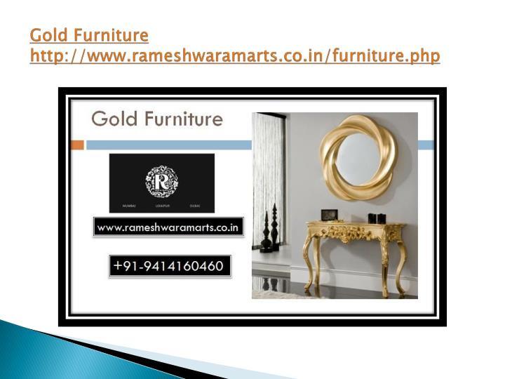 Gold Furniture