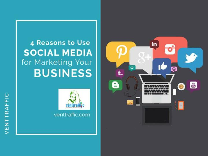 4 reasons to use social media for marketing your business n.