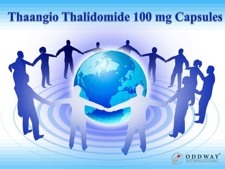 PPT - Thaangio Thalidomide 100 mg Capsules Price India