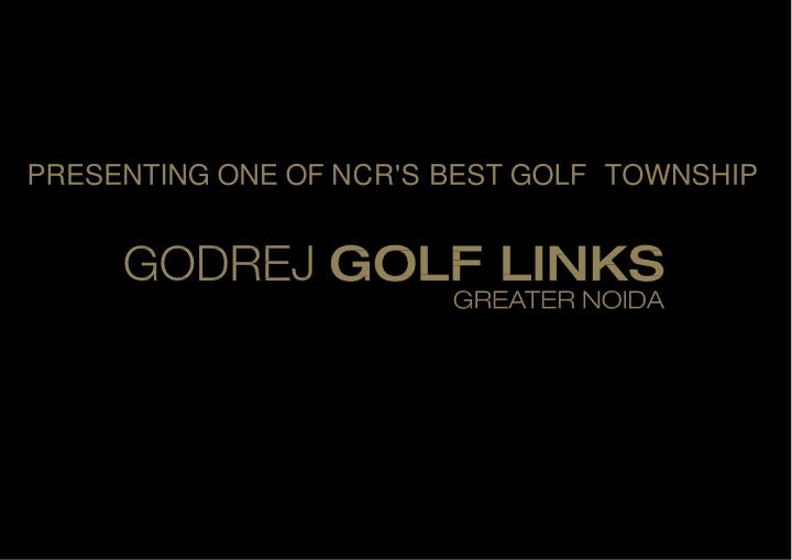 presenting one of ncr s best golf township n.
