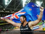 tomas walsh of new zealand celebrates after