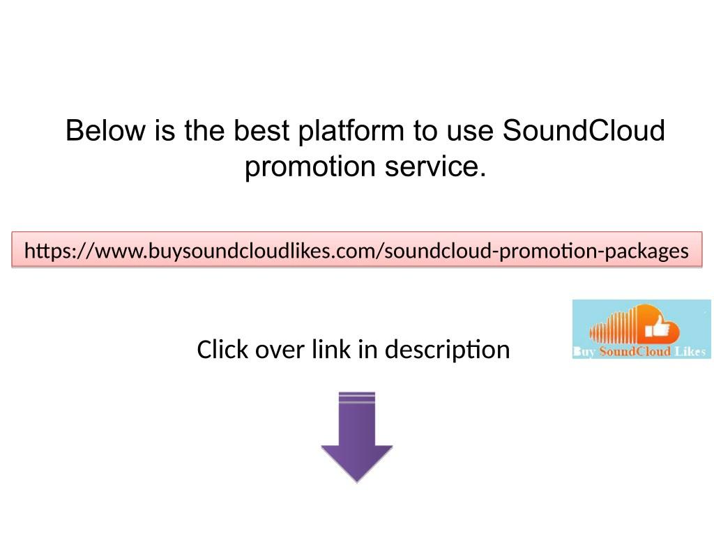 PPT - Best SoundCloud Promotion Service PowerPoint