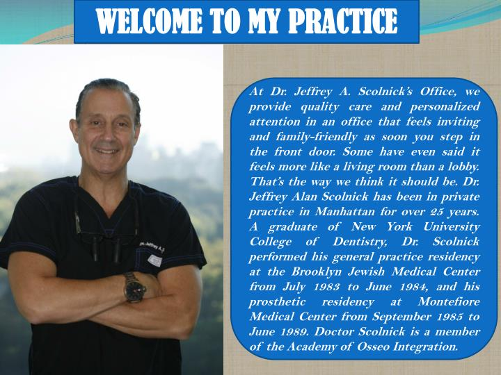 welcome to my practice n.