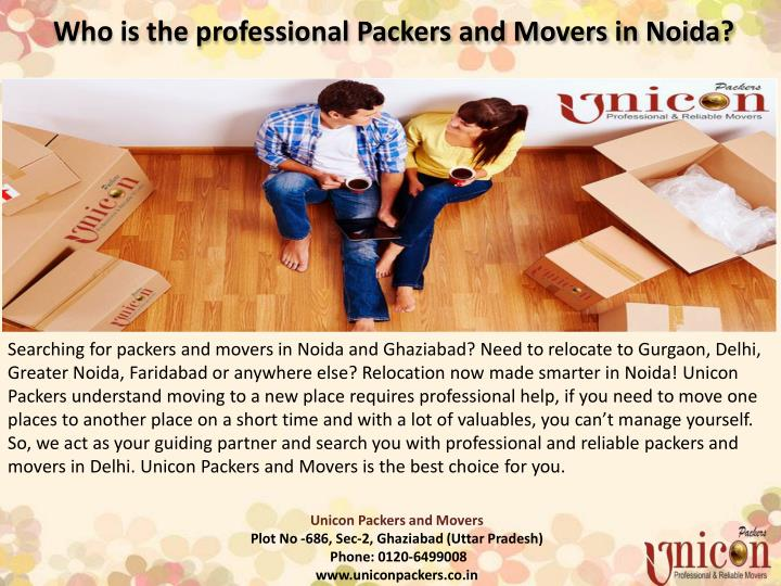 who is the professional packers and movers in noida n.