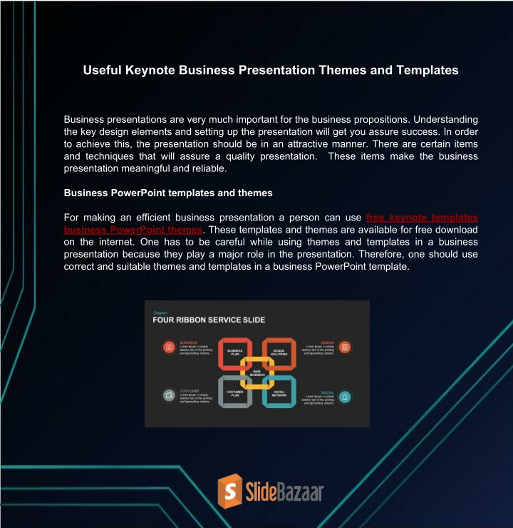 Ppt Useful Keynote Business Presentation Themes And Templates