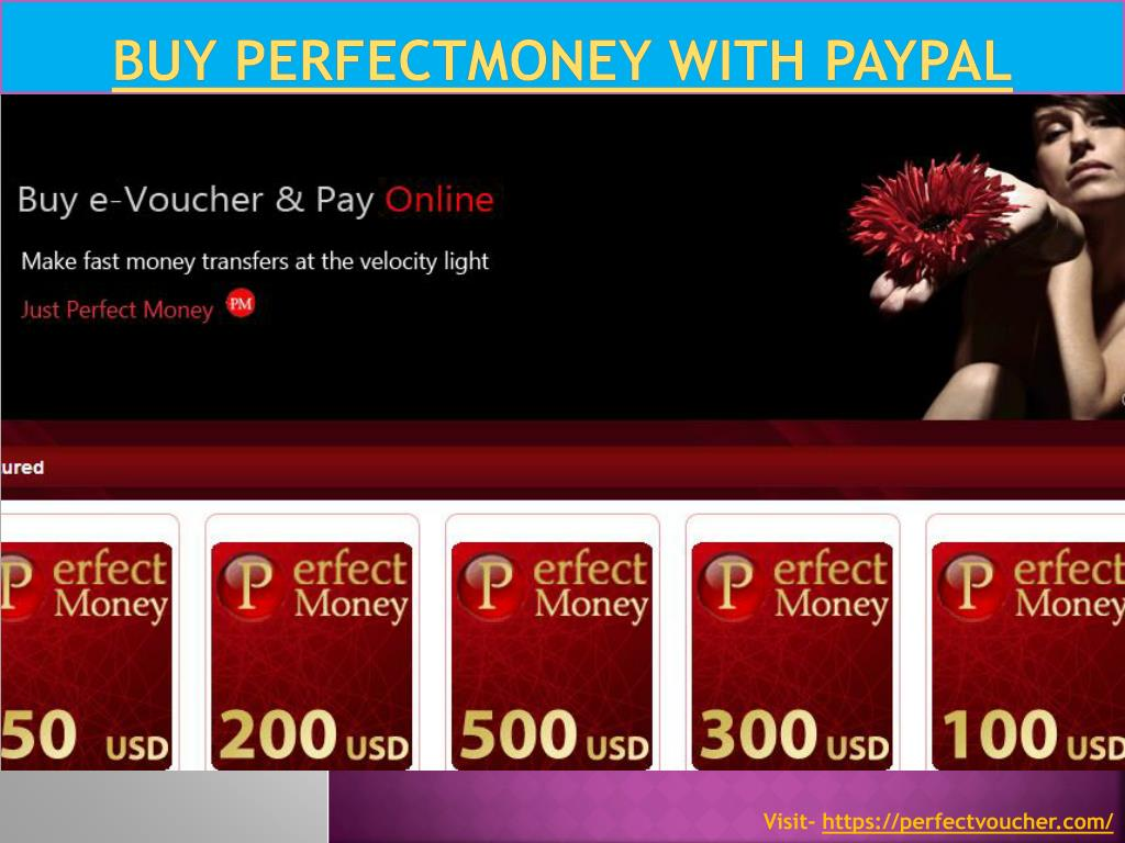 PPT   Buy perfectmoney with paypal PowerPoint Presentation, free ...