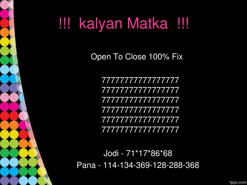 Kalyan Open