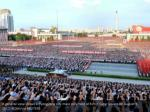 a general view shows a pyongyang city mass rally 1