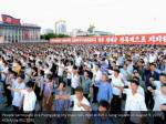 people participate in a pyongyang city mass rally 2