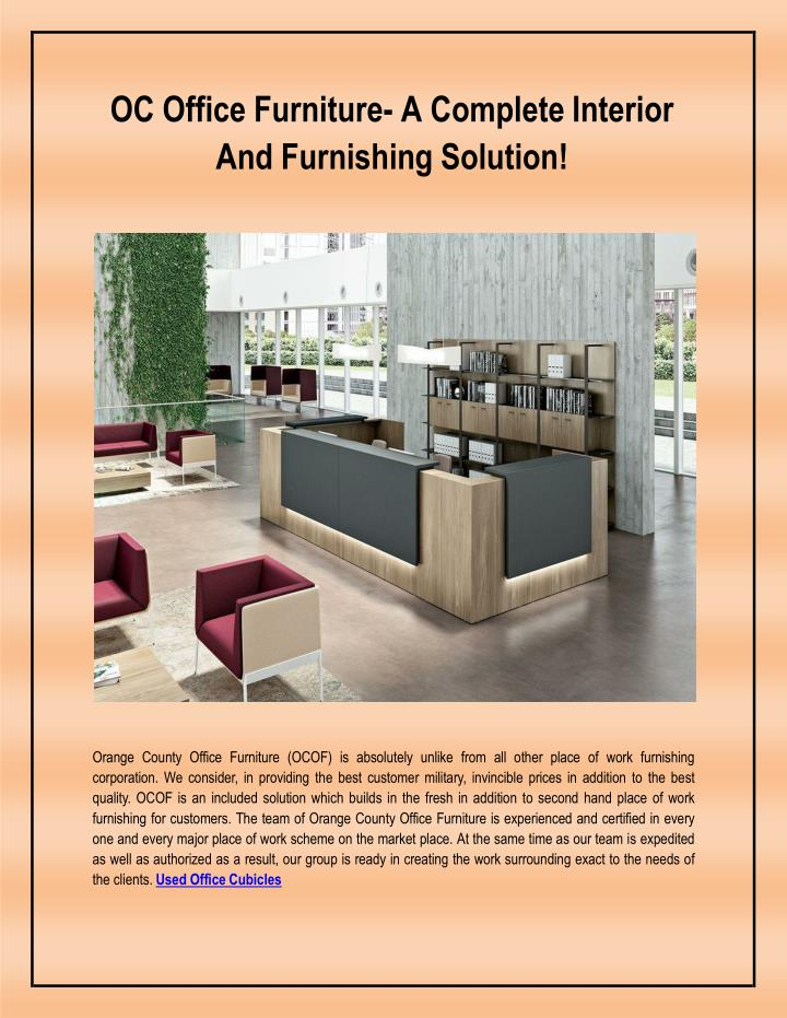 oc office furniture a complete interior and furnishing solution n.