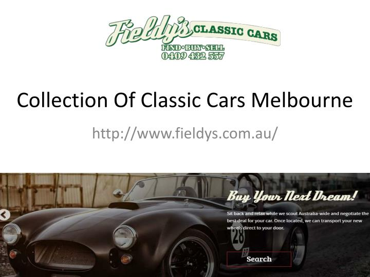 collection of classic cars melbourne n.