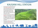 kausani hill station one of the most beautiful
