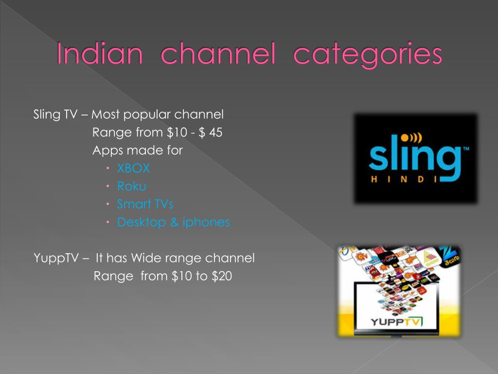 PPT - Indian channels on Roku PowerPoint Presentation - ID:7663028