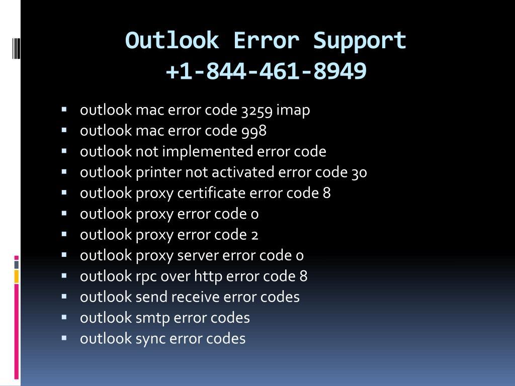Outlook Not Syncing Mac