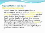 imported marble in india export http www tripurastones in 4