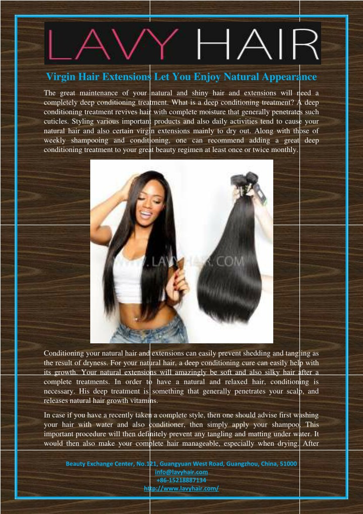 virgin hair extensions let you enjoy natural n.
