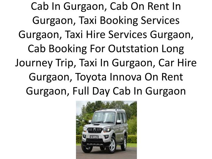 cab in gurgaon cab on rent in gurgaon taxi n.